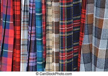 kilts, schottische