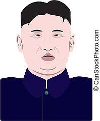 Kim Jong-un, the supreme leader of North Korea