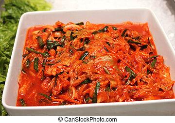 Kimchi is a very popular Korean dish