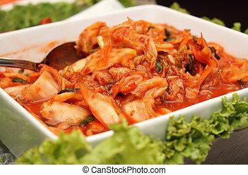 Kimchi  popular Korean dish