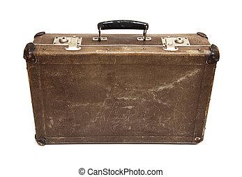 kimerülés, bőrönd