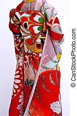 kimono, japonés