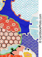 kimono, weefsel