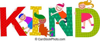 Kind Kids Title Text
