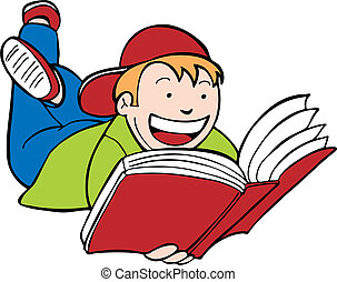 kind lesen buch, kind