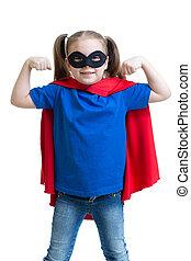 kind, m�dchen, spiele, superhero