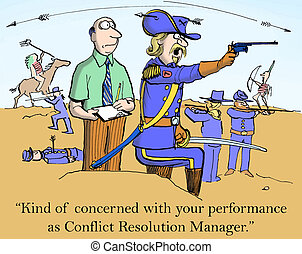 "Conflict Resolution - ""Kind of concerned with your..."