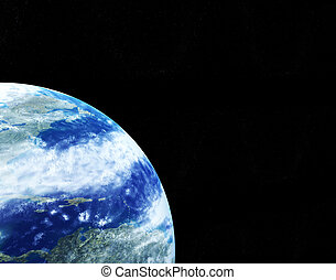 Kind of the Earth from space