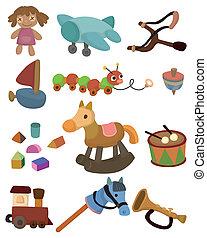 kind, speelbal, spotprent, pictogram