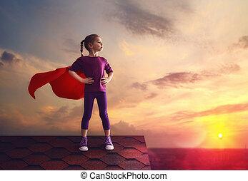 kind, toneelstukken, superhero