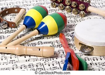 kinder, 2, instrumente