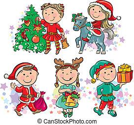 kinder, weihnachten