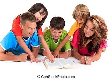 kinderen, het boek van de lezing