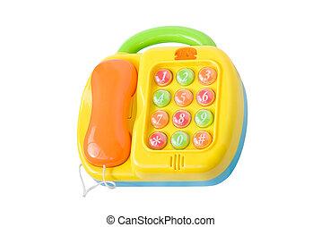 kinderen, onderwijsspeelgoed, telefoon