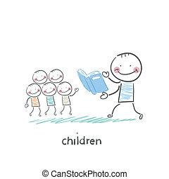 kinderen, volwassenen