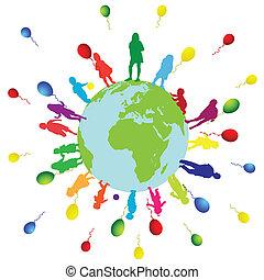 kinderen, wereld