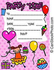 kinderfest, einladung