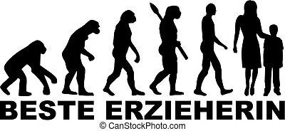 Kindergarten Teacher Evolution
