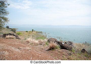Kineret lake in Israel