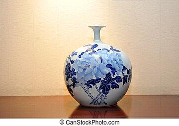 kinesisk, antikvitet, vas
