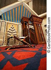 King Abdullah mosque I in Amman, Jordan