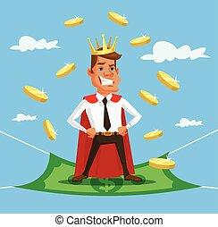 King businessman