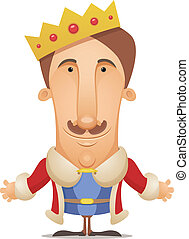 King - Cartoon Character