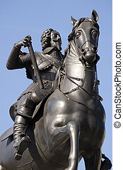 King Charles I Statue, Westminster