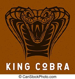 King Cobra illustration