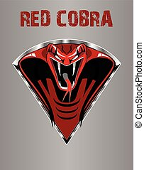 King Cobra in triangle