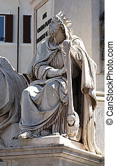King David by Tadolini, Column of the Immaculate Conception ...