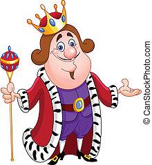 King - Friendly king