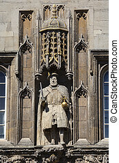 King Henry VIII at Trinity College Cambridge