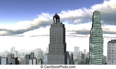 king kong and buildings