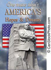 King Memorial, Dreams an Ideas