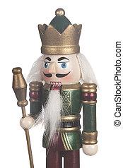 King Nutcracker Soldier Close up
