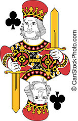 King of clubs no cards