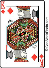 King of diamonds