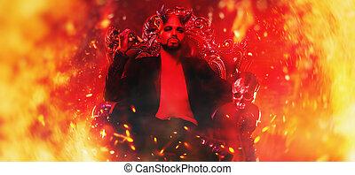 king of fiery underworld