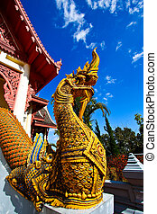 King of Nagas in Mae Salong