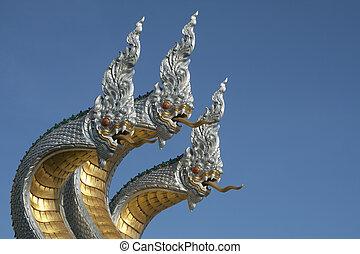 King of Nagas or Thai Dragon