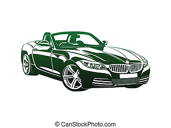 King of sport cars green