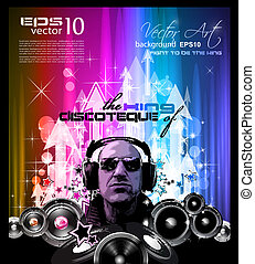 Alternative Music Event Flyers - King of the Discoteque: ...