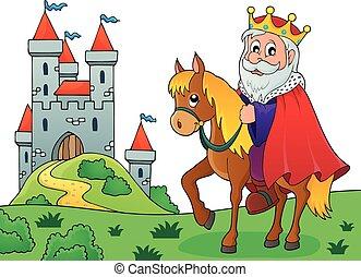 King on horse theme image 4