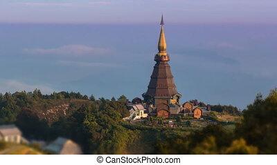 King Pagoda Of Thailand