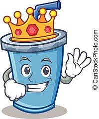 King soda drink character cartoon