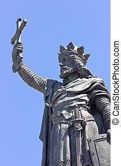 king - Statue of King Pelayo