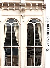 King street facades