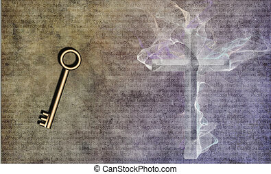 Kingdom Key - Key and Cross