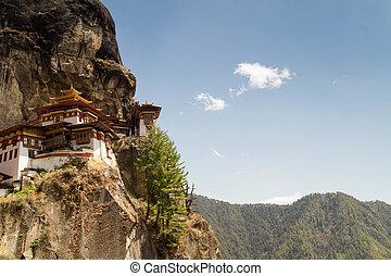 Kingdom of Bhutan - Tiger's Nest Monastery in Paro, Bhutan